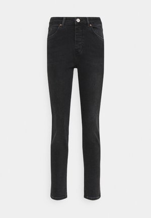 2ND RIGGIS THINK TWICE - Straight leg jeans - black