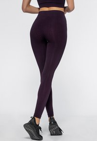 Heart and Soul - Collant - black/plum - 2
