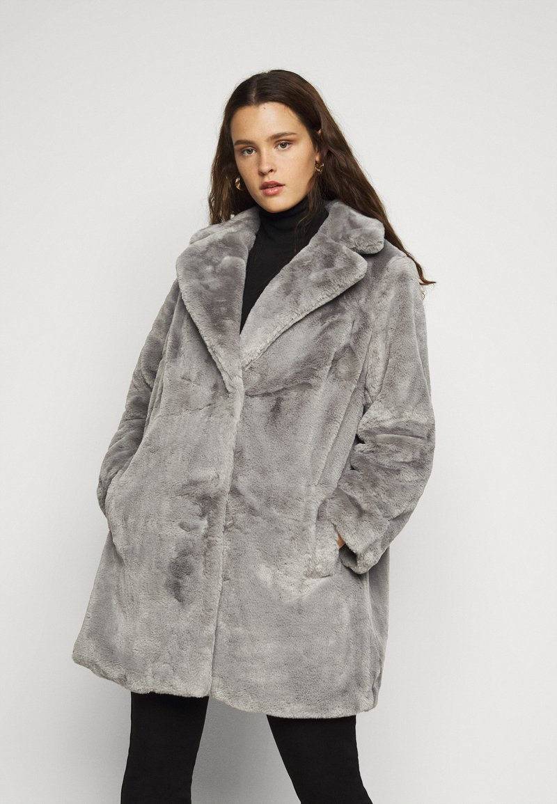 New Look Curves - WILLOW ECOM - Winter coat - dark grey