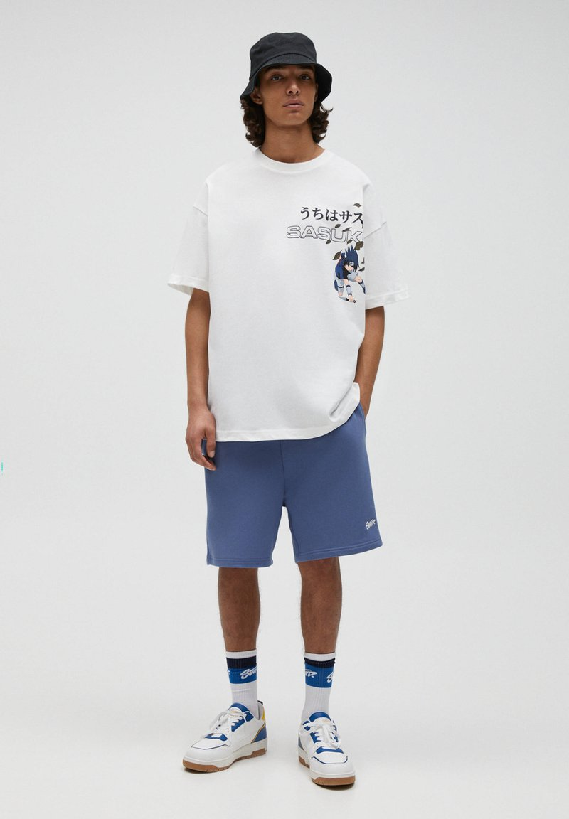 PULL&BEAR - COWBOY BEBOP - T-shirt con stampa - off-white