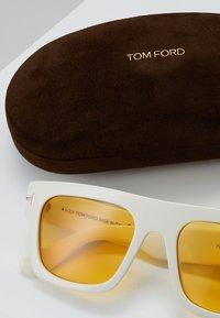 Tom Ford - Sunglasses - white/yellow - 2