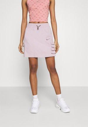 SKIRT - Mini skirt - champagne