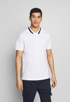 BOLD TIP - Koszulka polo - white