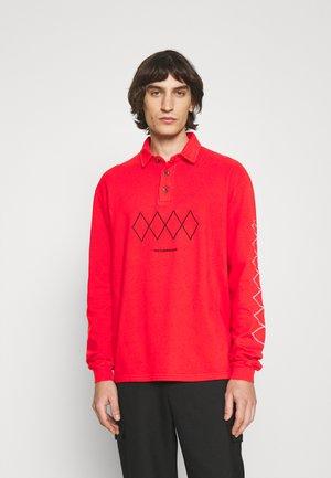 SHIRT LONG SLEEVE - Polo shirt - red