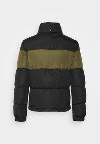 Belstaff - DOME JACKET - Down jacket - black/sage green - 10