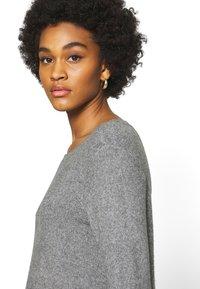 ONLY - ONLELENA DRESS - Jumper dress - medium grey melange - 5