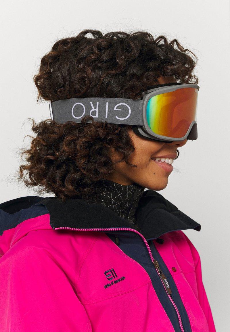 Giro - MOXIE - Laskettelulasit - tit core lght amber pink/yell
