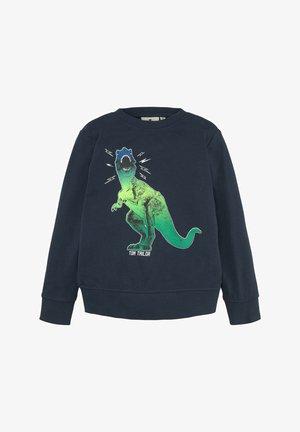 MIT PRINT - Sweater - kids dress blue