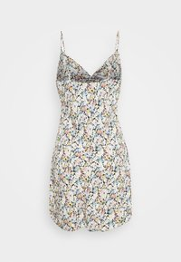 Abercrombie & Fitch - CHASE TWIST FRONT SHORT SLIP - Day dress - white - 6