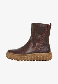 GROUND - Classic ankle boots - burgund