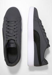Puma - SMASH  UNISEX - Sneakers - iron gate/puma black - 1