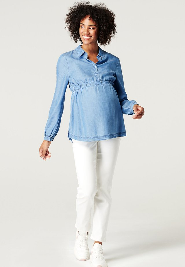 Blouse - medium wash