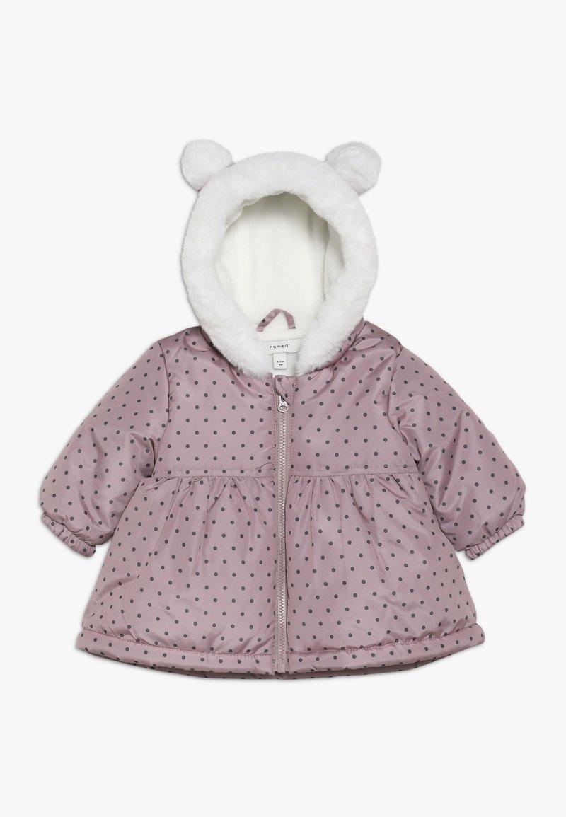 Name it - NBFMARIA  - Winter coat - woodrose