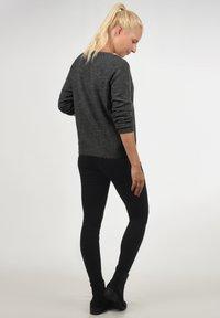 Vero Moda - LACEY - Jumper - dark grey - 2