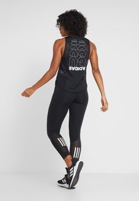adidas Performance - OWN THE RUN - Tights - black - 2