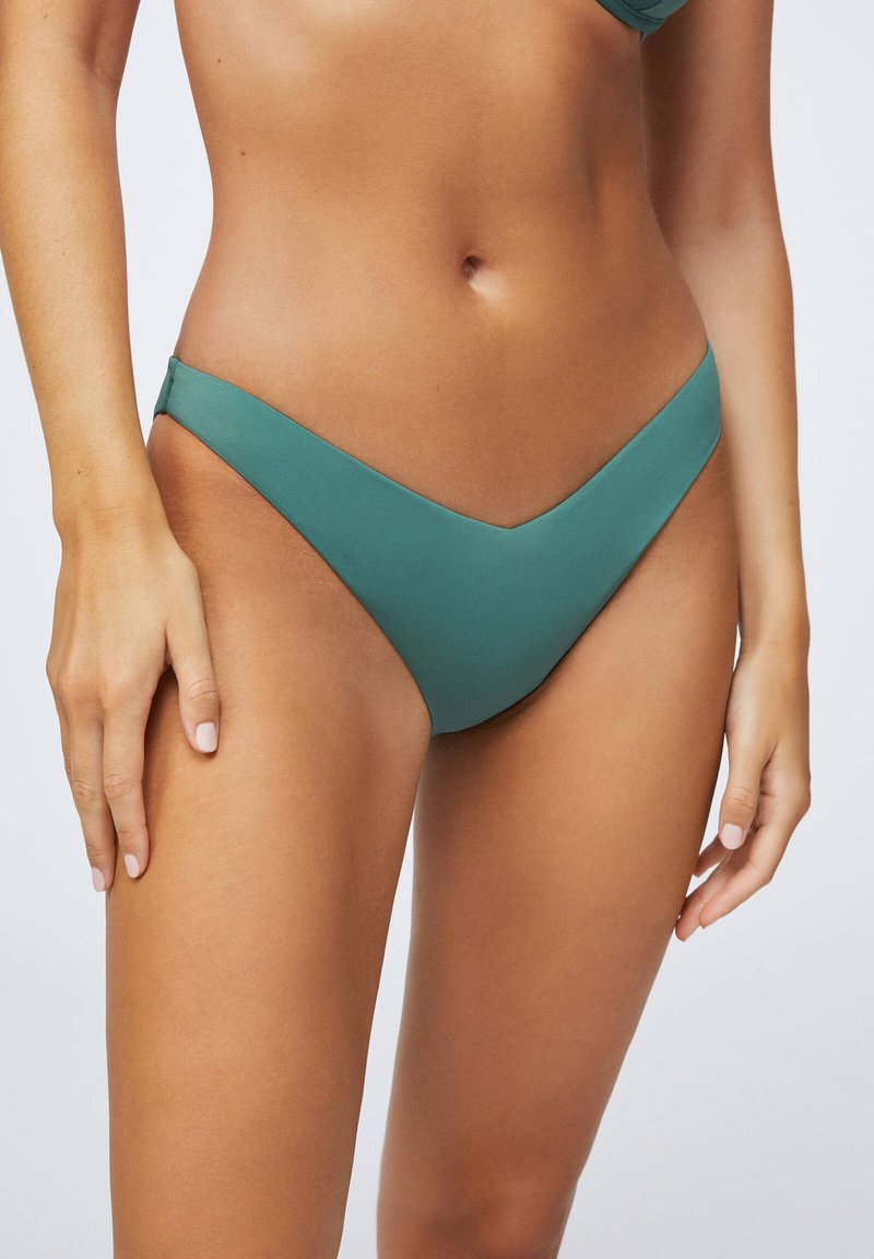 OYSHO - Bikini bottoms - evergreen