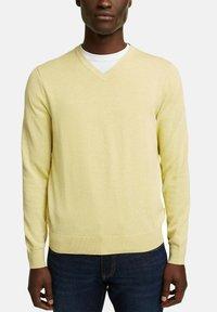 Esprit - Jumper - light yellow - 9