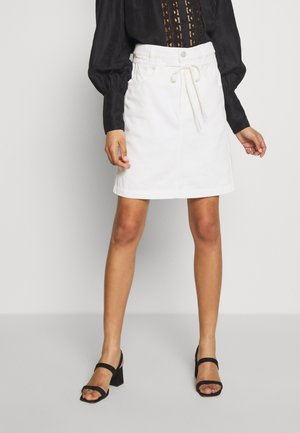 TABBY - A-line skirt - blanched almond