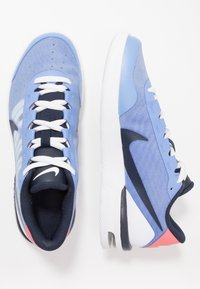Nike Performance - COURT AIR MAX VAPOR WING - Tennisschoenen voor alle ondergronden - royal pulse/obsidian white/sunblush - 1