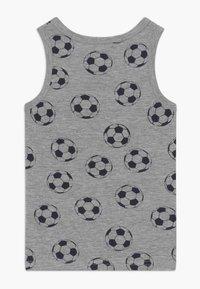 Name it - NMMTANK FOOTBALL 2 PACK - Tílko - grey melange - 1