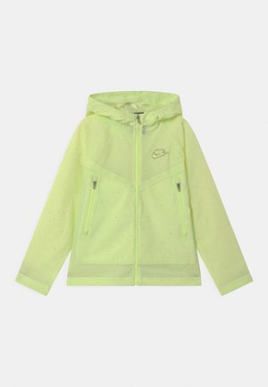 UNISEX - Waterproof jacket - liquid lime
