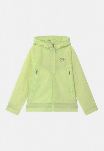 UNISEX - Waterproof jacket - liquid lime