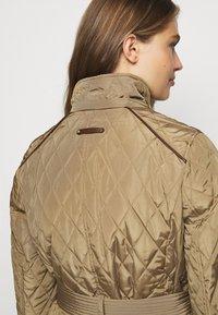 Lauren Ralph Lauren - JACKET BELT - Winter coat - sand - 5