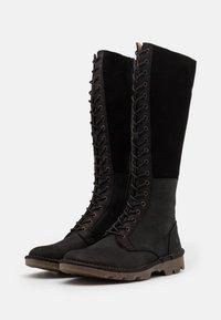 El Naturalista - FOREST - Lace-up boots - black - 2