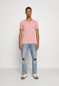 G-Star - BASE 2 PACK - T-shirt - bas - dusty rose - 0