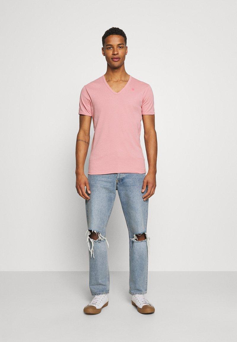 G-Star - BASE 2 PACK - T-shirt - bas - dusty rose