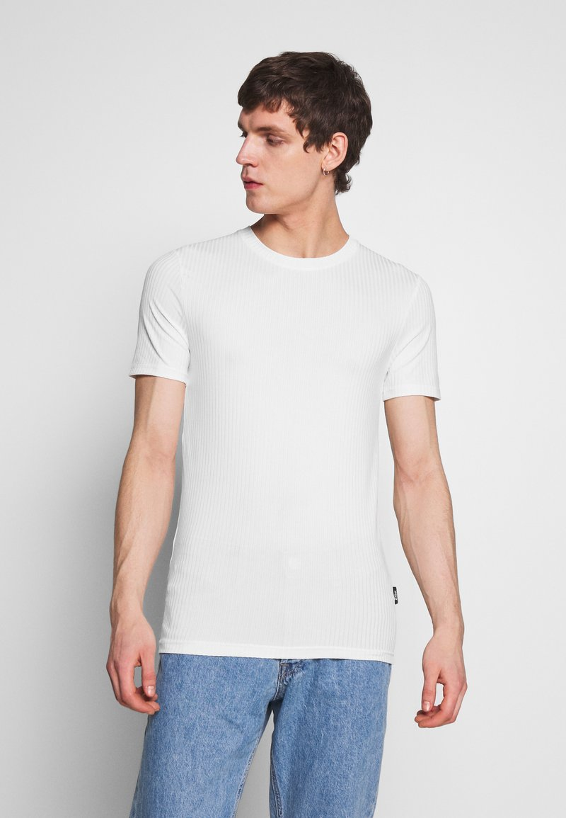 Zign - T-shirt - bas - offwhite