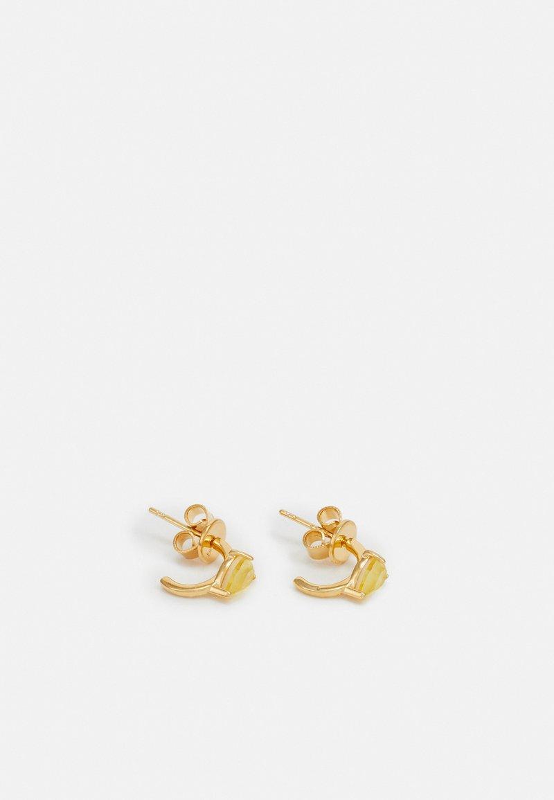 PDPAOLA - AMBER ÉCLAIR  - Kolczyki - gold-coloured