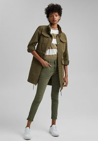 edc by Esprit - Slim fit jeans - khaki green - 1