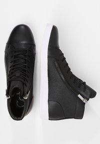 Calvin Klein - BERKE - Sneakers alte - black - 1