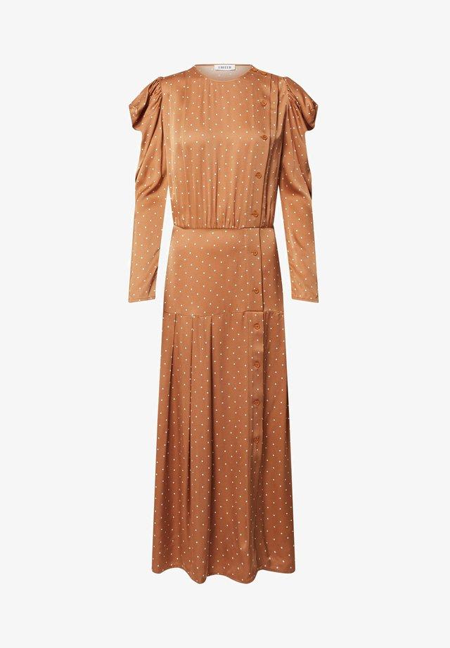THALISA - Shirt dress - orange