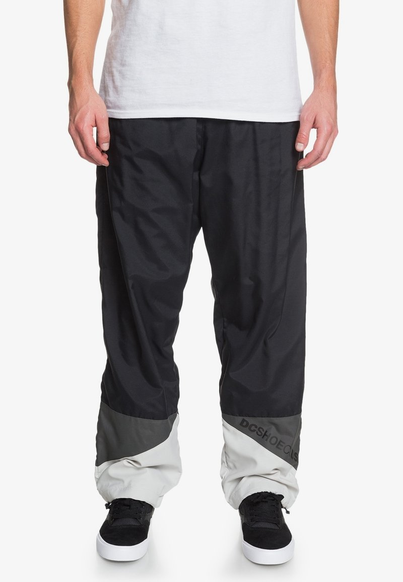 DC Shoes - Tracksuit bottoms - black