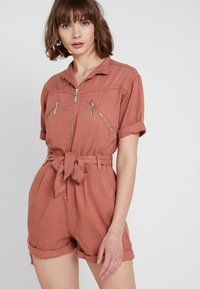 Topshop - UTILITY - Overal - coral - 0