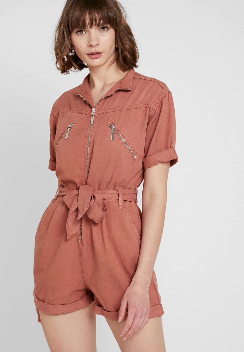Topshop - UTILITY - Overal - coral