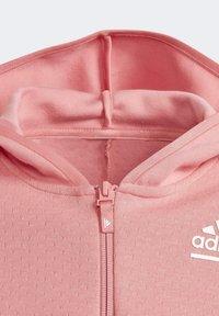 adidas Performance - ADIDAS Z.N.E. LOOSE FULL-ZIP HOODIE - Zip-up sweatshirt - pink - 2