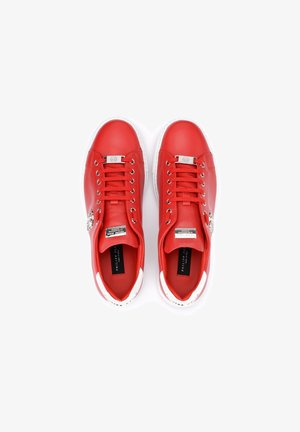 Sneakers basse - rosso