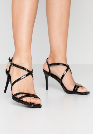 ROLLO - High heeled sandals - black