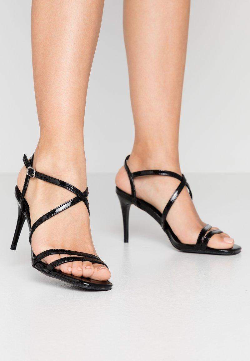 New Look - ROLLO - Sandali con tacco - black