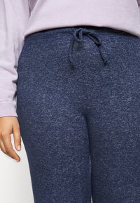 Evans - SOFT TOUCH PANT - Trousers - navy - 5