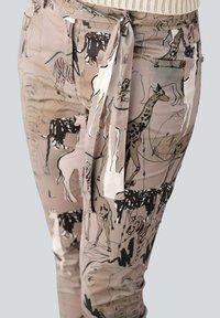 Alba Moda - Trousers - beige,schwarz - 2