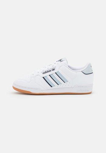 CONTINENTAL 80 STRIPES UNISEX - Zapatillas - footwear white/halo blue/collegiate navy