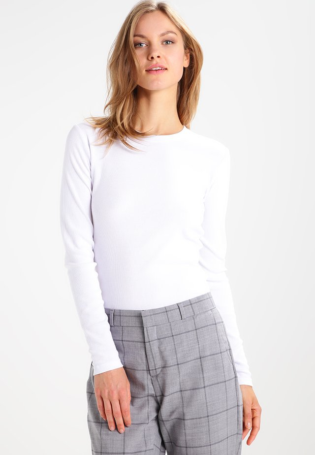 ALEXA - Bluzka z długim rękawem - white