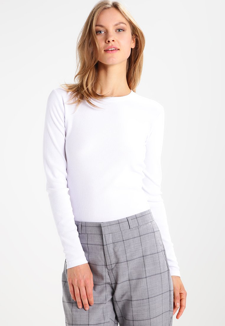 Samsøe Samsøe - ALEXA - Long sleeved top - white