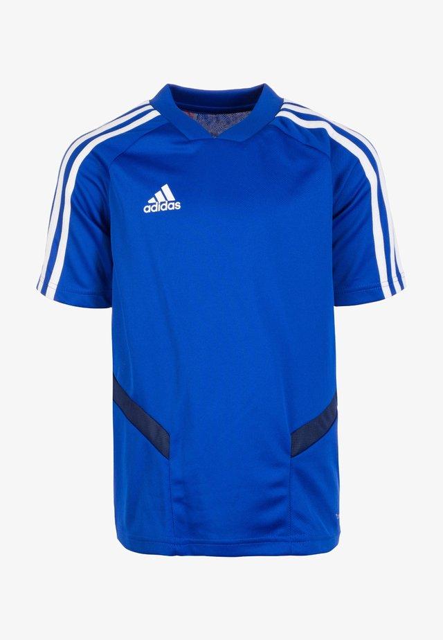 TIRO 19 AEROREADY CLIMACOOL JERSEY - Print T-shirt - bold blue/ dark blue/white