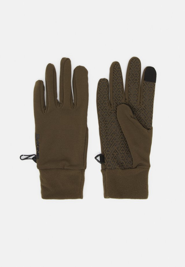 STORM LINER - Gloves - dark olive