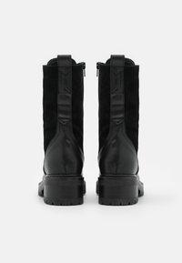 ZIGN Wide Fit - Bottes à lacets - black - 3